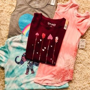 Other - Girls size 14 Summer Shirts - NWT